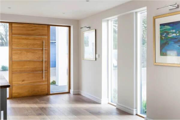 Bejárati ajtó, ablak