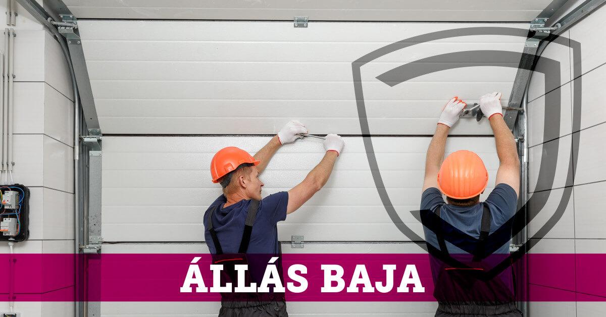 Baja - Garázskapu beépítő állás - JOLA